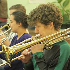 Max Wilkinson Trombone Player in Ely