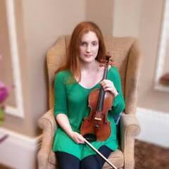 Katie Wilson Violinist in Cardiff