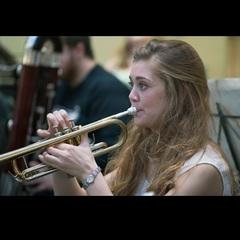 Kaitlin Wild Trumpeter in London