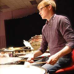 Iolo Edwards Percussionist in Cardiff