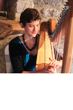 Stephanie West Harpist in the UK
