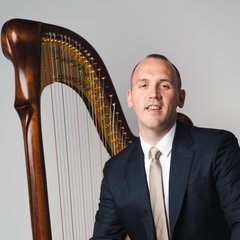 Llywelyn Welly Ifan Jones Harpist in the UK