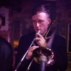 George Hardwick Trombone Player in Bolton