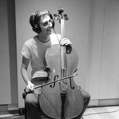 Tim Burton Cellist in London