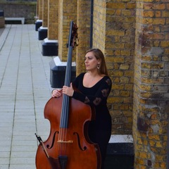 Clare Larkman Double Bass Player in London