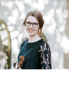 Georgina MacDonell Finlayson Violinist in Edinburgh