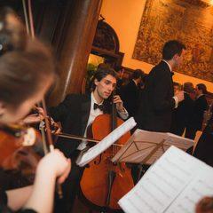 David Davies Cellist in Newcastle