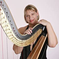 Maxine Molin Rose Harpist in Chester