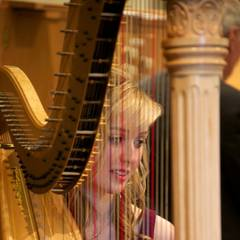 Caroline Hall Harpist in the UK