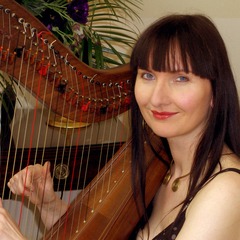 Ramona Egle Harpist in the UK