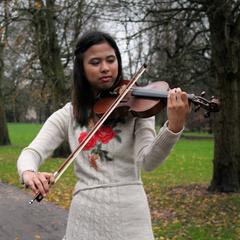 Wani Ismail Violinist in Cardiff