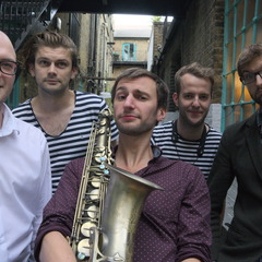 The Chris Whiter Quintet Jazz Band in the UK