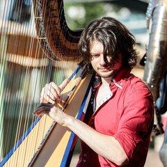 Benjamin Creighton Griffiths Harpist in Cardiff