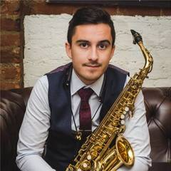 Rich Muscat Saxophone Player in London