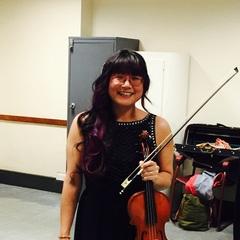 Naomi Shiono-Bunting Violinist in Birmingham