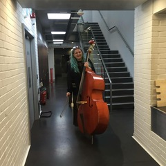 Anita Santinelli Double Bass Player in Liverpool