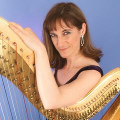 Angela Moore Harpist in Southampton
