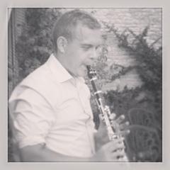 Tom Caldecote Clarinettist in Ely