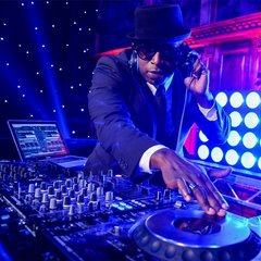 Kwame Knight DJ in the UK