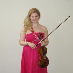 Charlotte D Violinist in Manchester