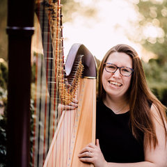 Angharad Edwards Harpist in the UK