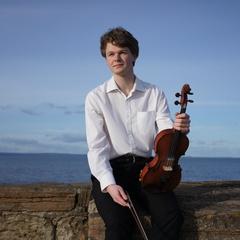 Francis Newman Violinist in Edinburgh