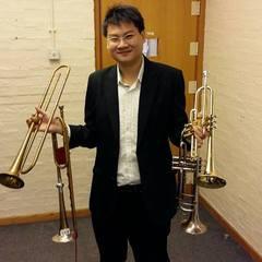 Yau Yann Zhe Trumpeter in Glasgow