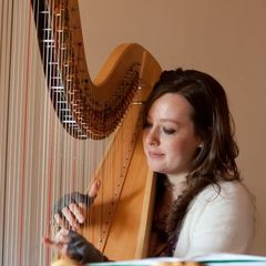 Marged Hall Harpist in Swansea