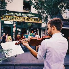Théophile Lenoir Violinist in London