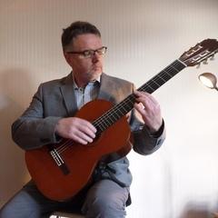 Nigel Ewen Guitarist in Glasgow