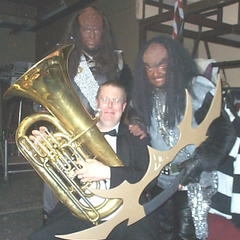 Mike Johnson Tuba Player in Rochdale