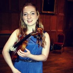 Valerie Cronshaw Violinist in Edinburgh