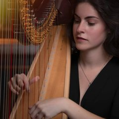 Noa Davies Harpist in the UK