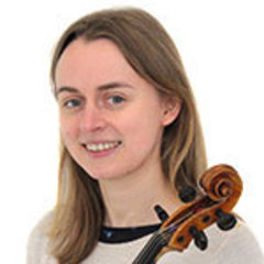 Anna Growns Viola Player in Coventry