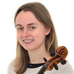 Anna Growns Viola Player in Oxford
