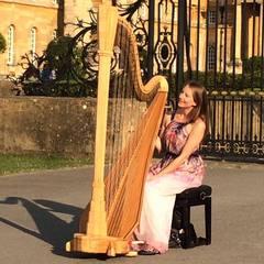 Sarah Goss Harpist in the UK