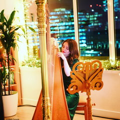 Glenda Allaway Harpist in the UK