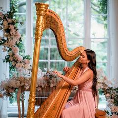 Glenda Allaway Harpist in the UK