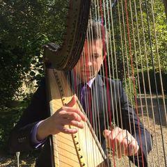 Tom Moth Harpist in the UK