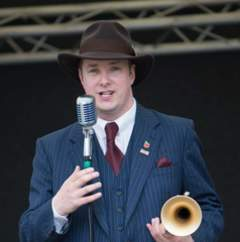 Ricky Hunter Trumpeter in Cardiff
