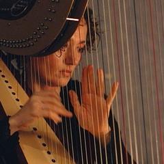 Lucia Antonacci Harpist in the UK