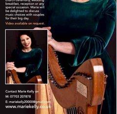 Marie Kelly Harpist in the UK