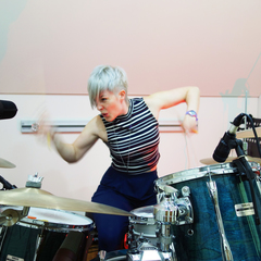 Emily Dolan Davies Drummer in Cambridge