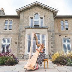 Nest Jenkins Harpist in Cardiff