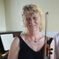 Angie Spencer Violinist in Bristol