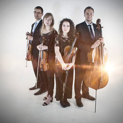 The Unity Strings String Quartet in the UK
