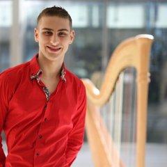 Ben Albertson Harpist in the UK