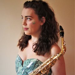 Freya Chambers Saxophone Player in Manchester