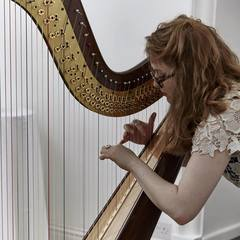 Kinga Was Harpist in Birmingham