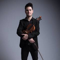 Cillian Breacháin Violinist in Glasgow